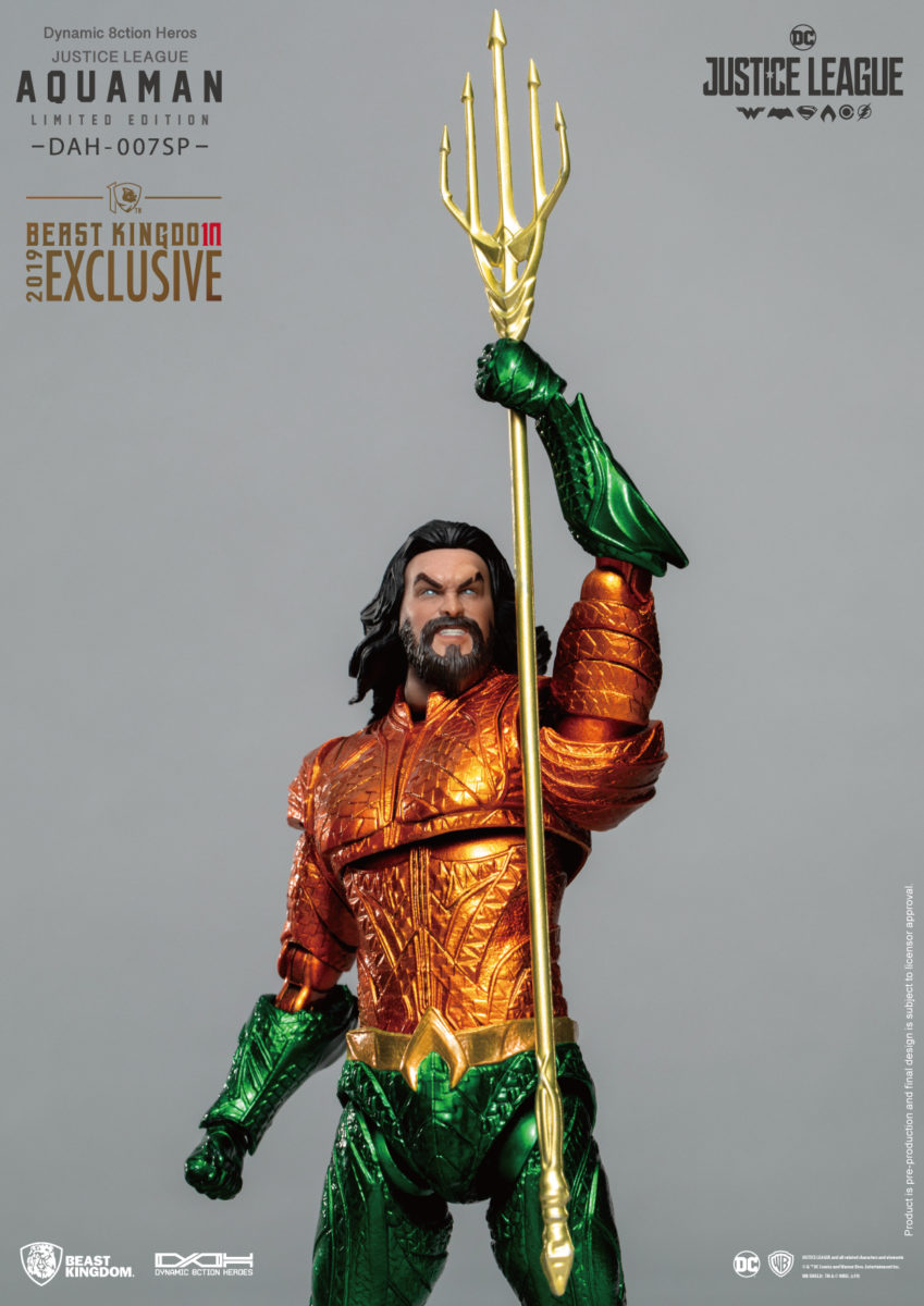 aquaman beast kingdom sdcc 2019