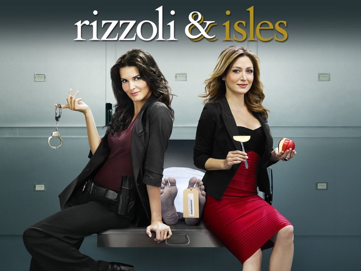 Rizzoli and Isles promo image.