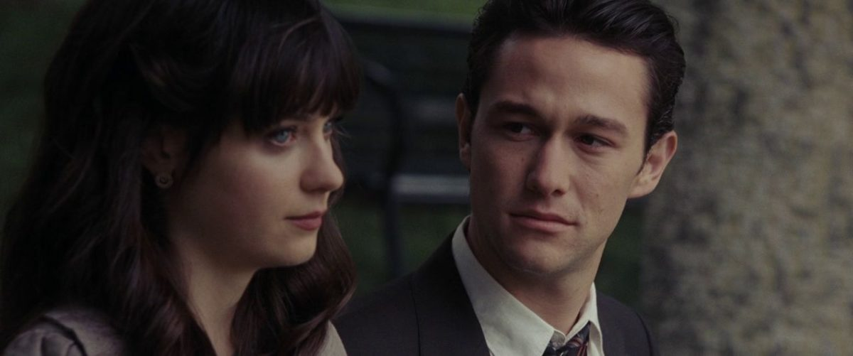 Zooey Deschanel and Joseph Gordon-Levitt in (500) Days of Summer (2009)