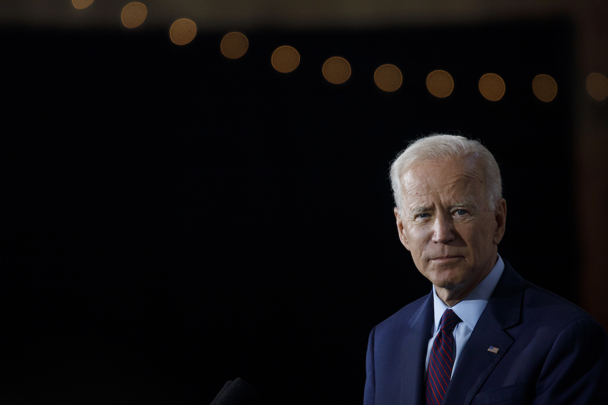 Joe Biden says sexual assault 'never happened'