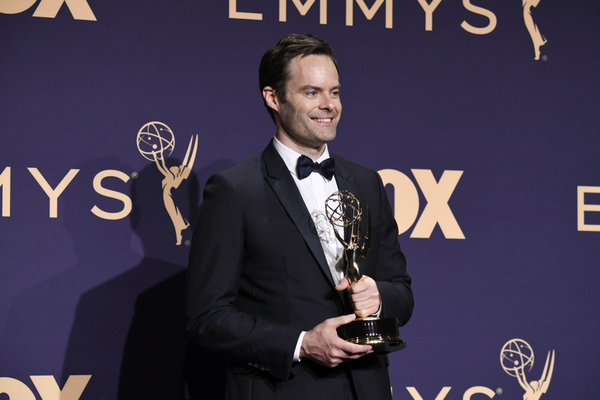 Bill Hader at the Emmys