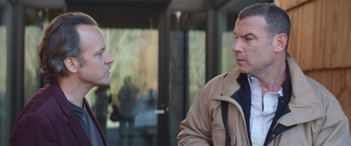 Liev Schreiber and Peter Sarsgaard in Human Capital