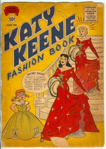 Katy Keene Fashion Book