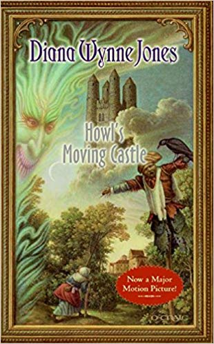 Howl's Moving Castle book cover.