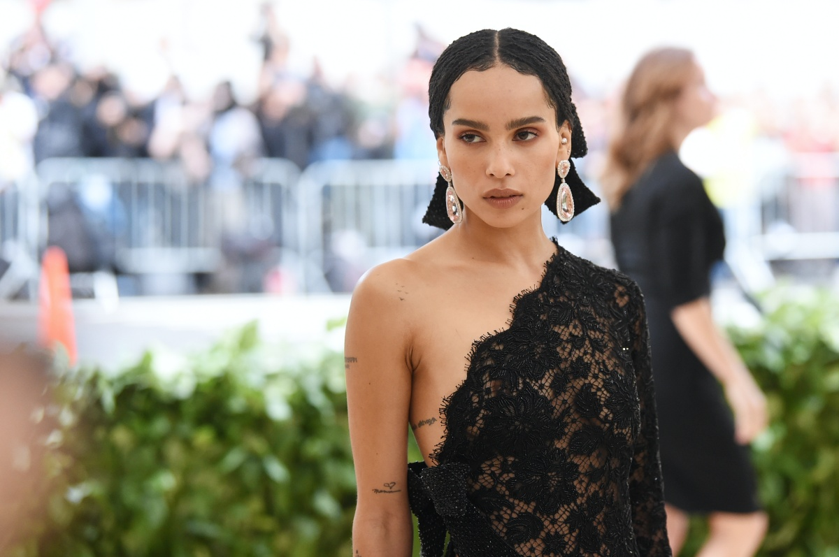 NEW YORK, NY - MAY 07: Zoe Kravitz attends the Heavenly Bodies: Fashion & The Catholic Imagination Costume Institute Gala at The Metropolitan Museum of Art on May 7, 2018 in New York City. (Photo by Jamie McCarthy/Getty Images)