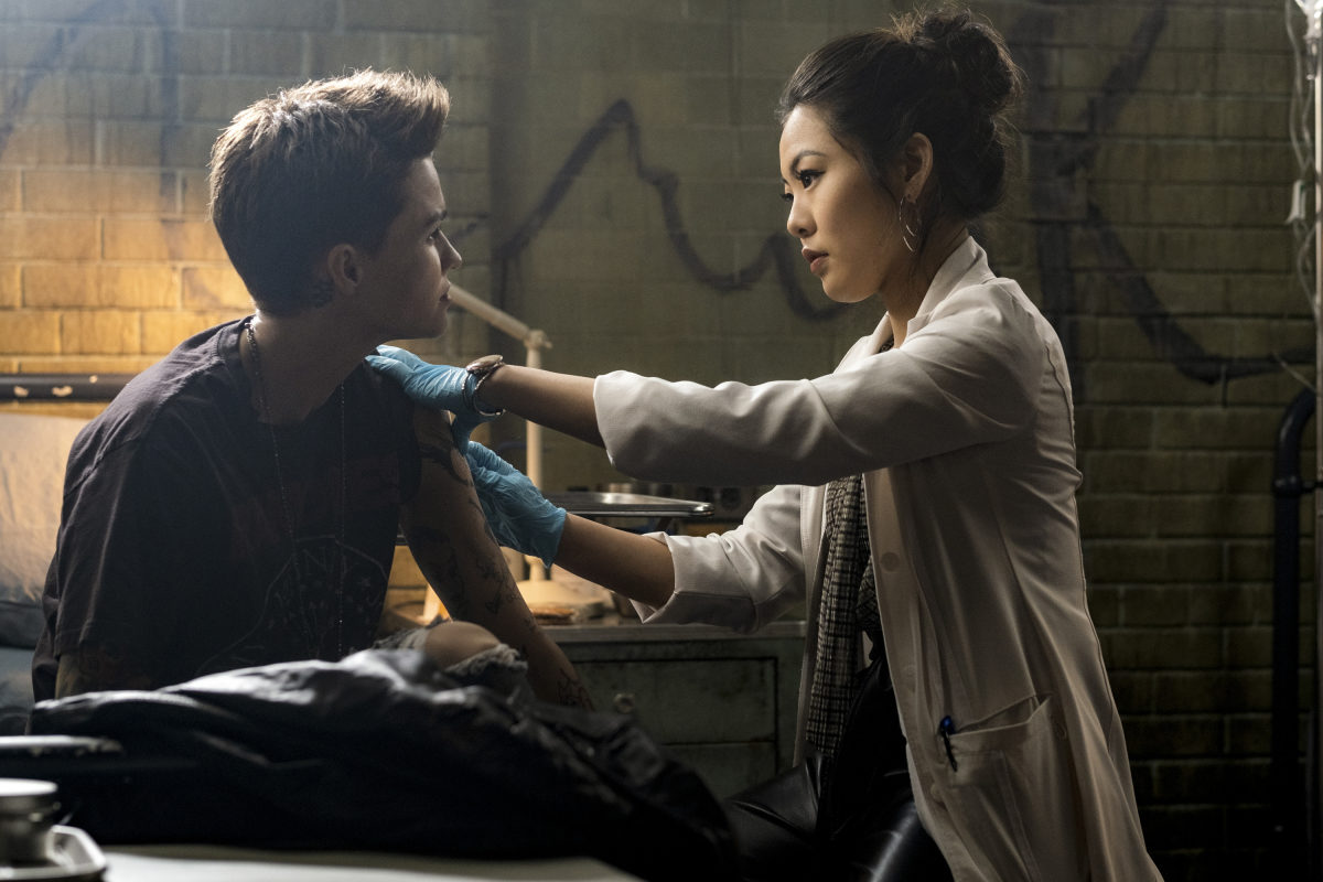 nicole kang as mary and ruby rose as kate in batwoman