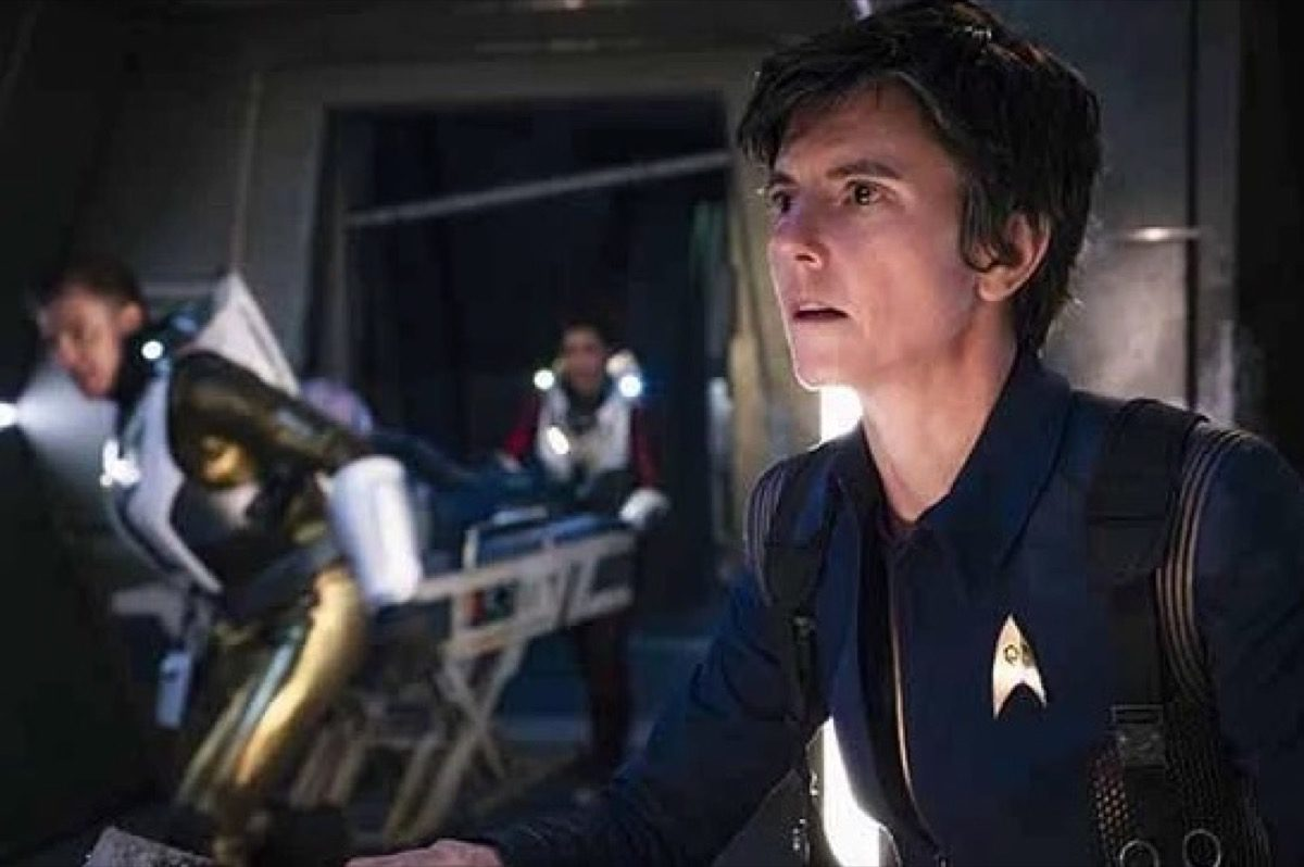 Tig Notaro as Jett Reno on CBS's Star Trek Discovery.