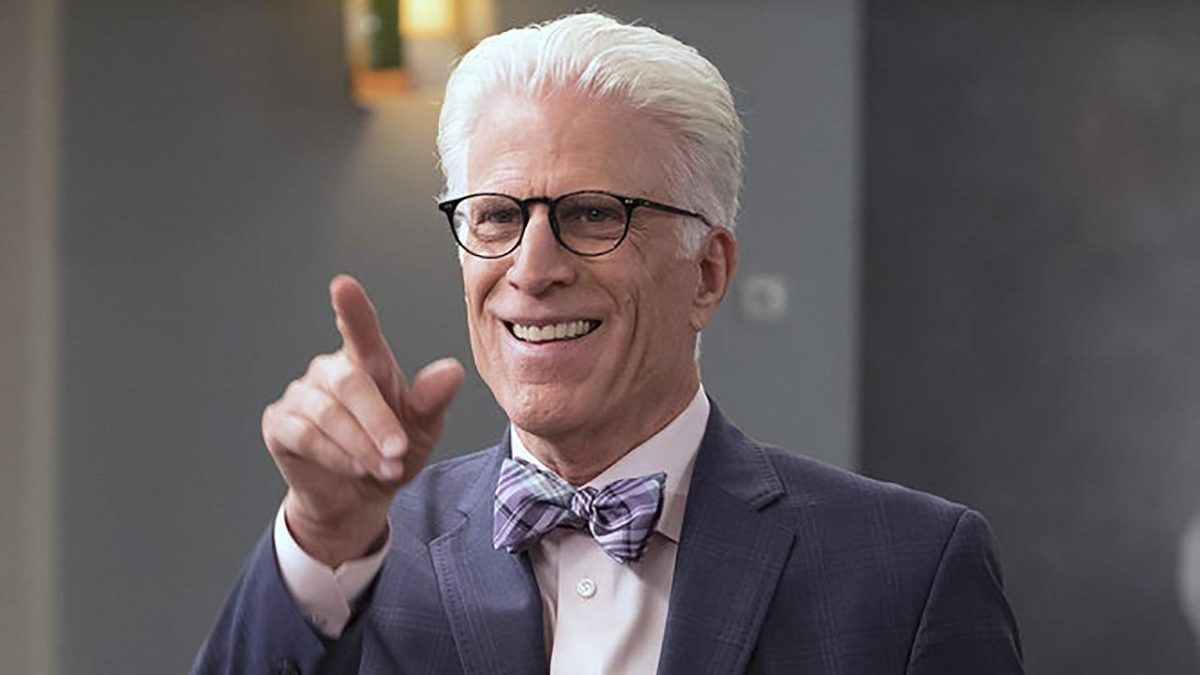 Ted Danson as Michael on NBC's The Good Place.