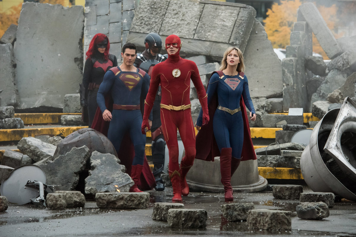 not quite the justice league crisis on infinite earths