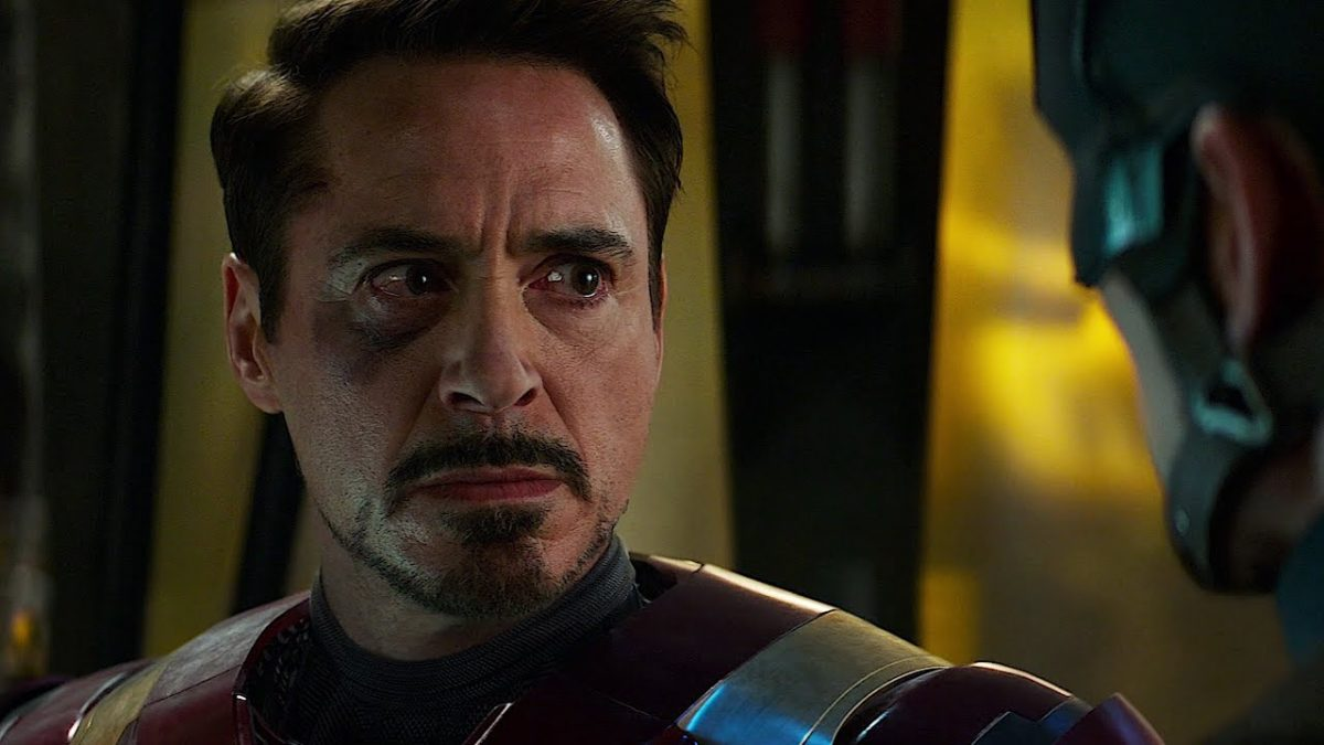 Tony Stark in Captain America: Civil War
