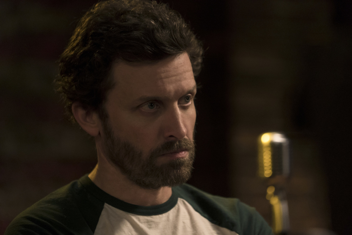 """Supernatural -- """"Don't Call Me Shurley"""" -- Image SN1120b_0197.jpg -- Pictured: Rob Benedict as Chuck Shurley-- Photo: Katie Yu/The CW -- © 2016 The CW Network, LLC. All Rights Reserved"""