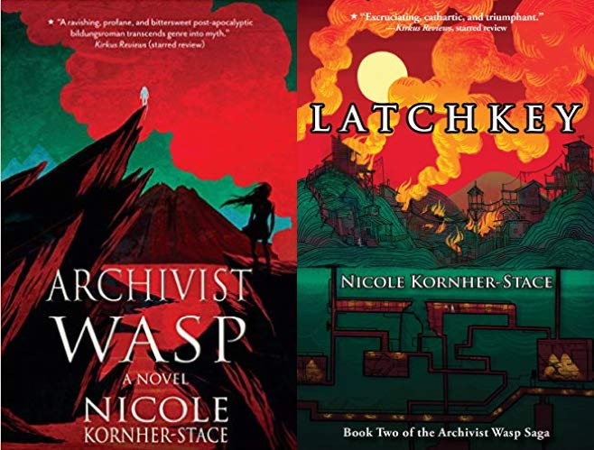 arcivist wasp and latchkey book covers