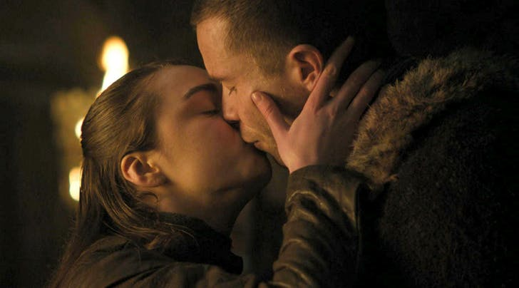 Arya and Genry on Game of Thrones