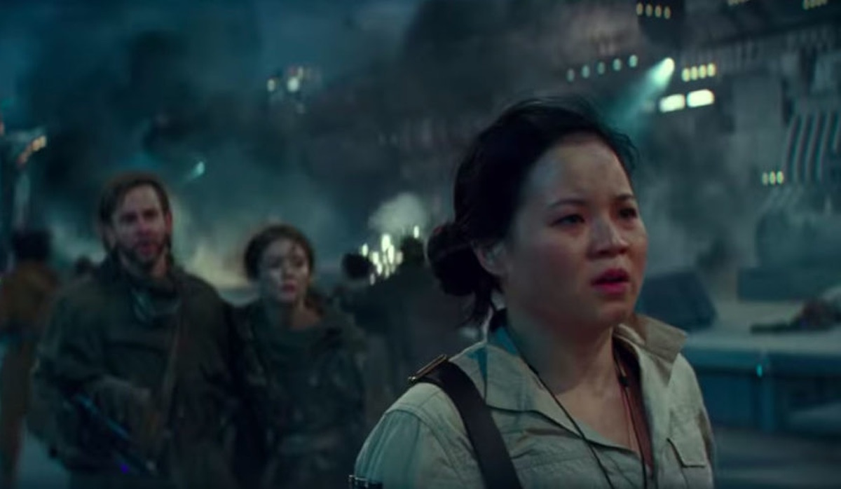 Kelly Marie Tran as Rose Tico in Star Wars: The Rise of Skywalker