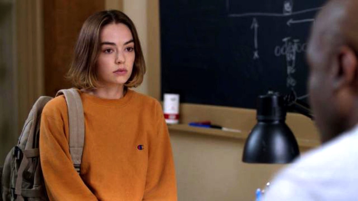 Brigette Lundy-Paine on Netflix's Atypical.