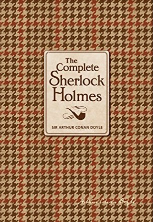 The Complete Sherlock Holmes book cover.