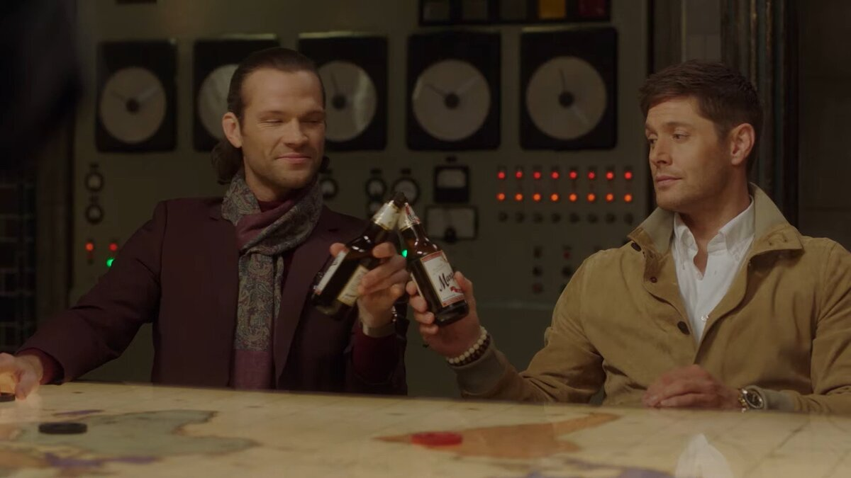 sam and dean dressed like hipsters