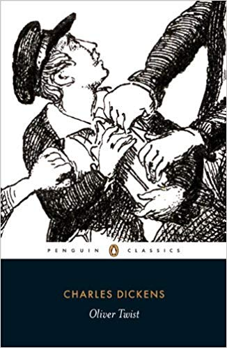 Oliver Twist book cover.