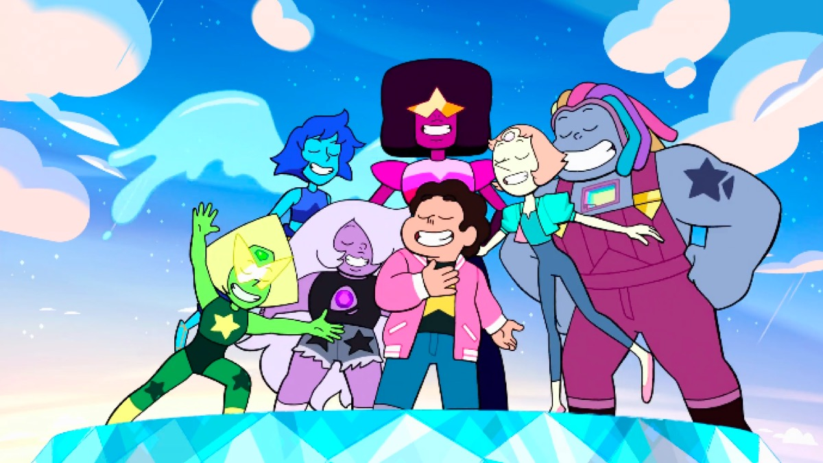 Steven Universe Future theme song still.