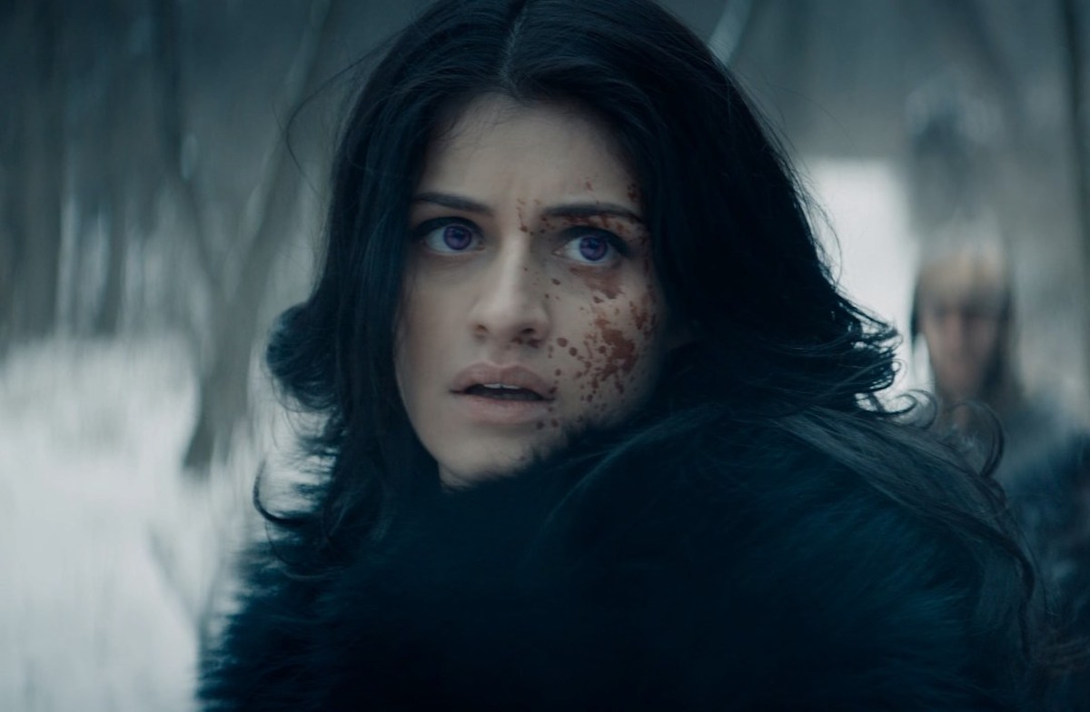 Yennefer in the Witcher