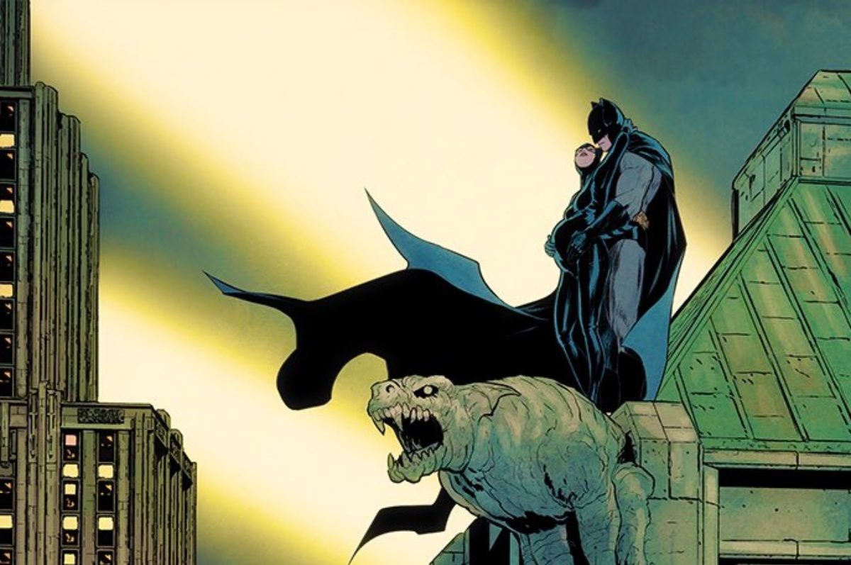 Batman and Catwoman are having a baby