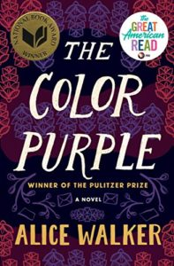 The Color Purple book cover.