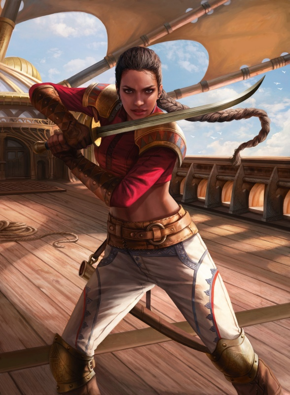 Captain Sisay 2 by Magali Villeneuve