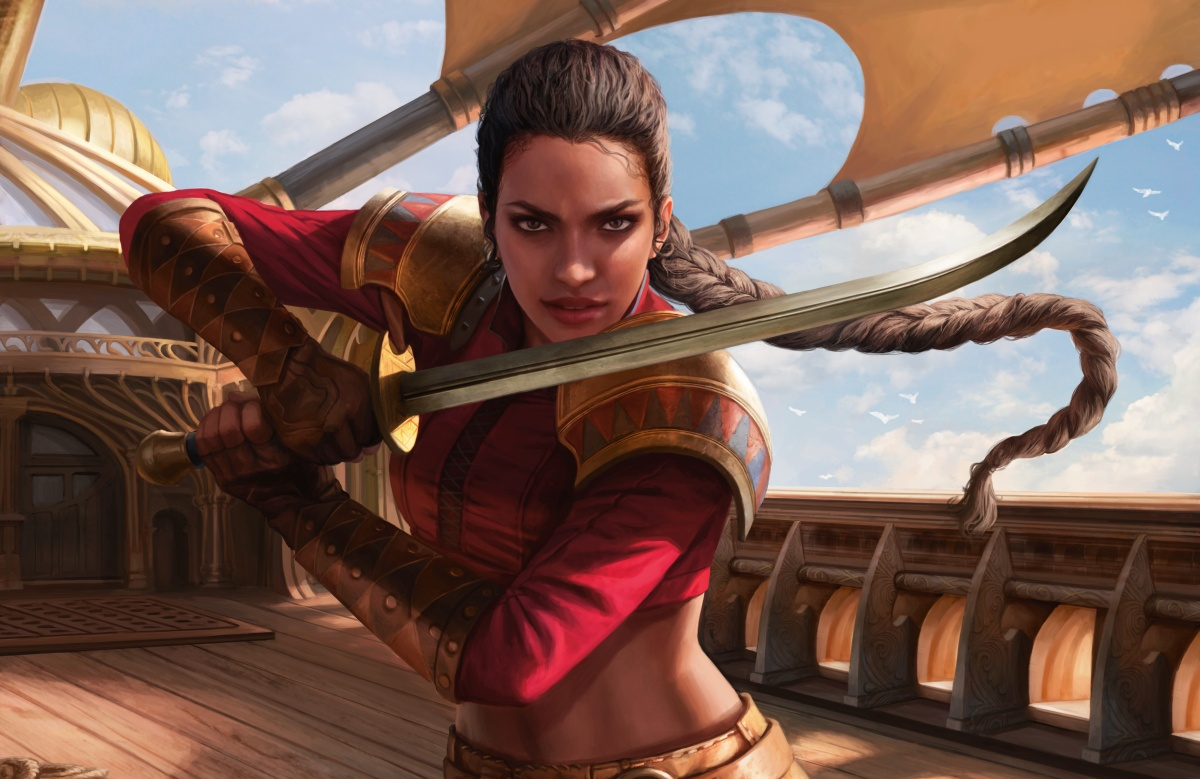 Captain Sisay by Magali Villeneuve
