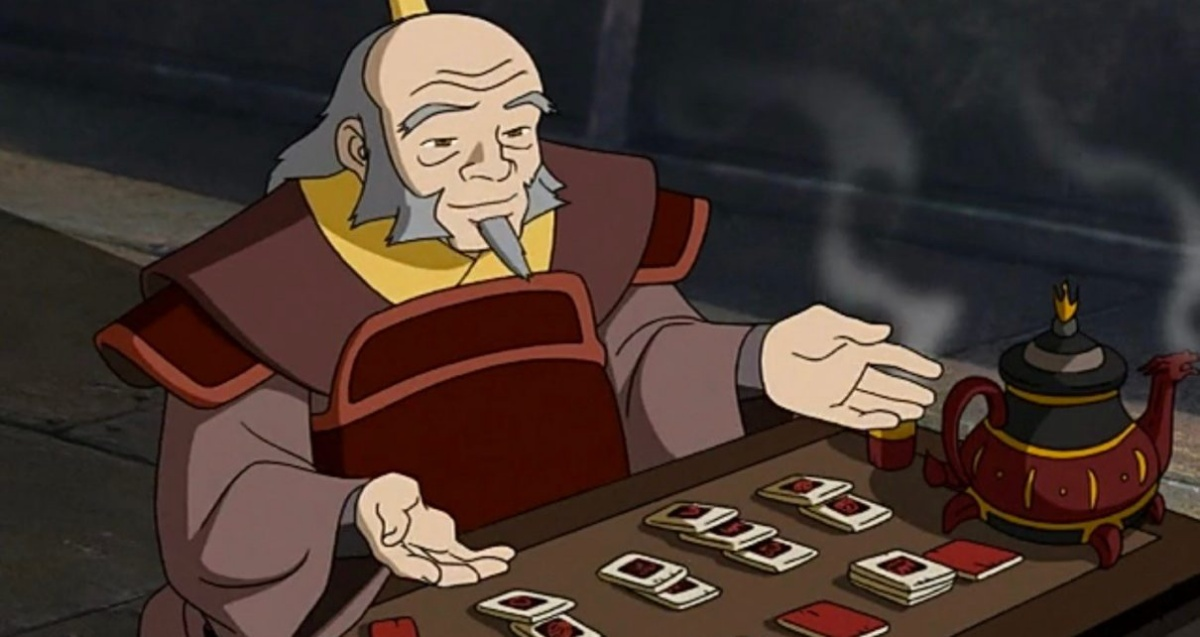 uncle iroh, one of the greatest characters of all time