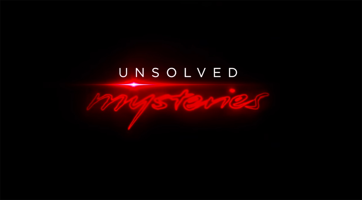 Unsolved Mysteries series on Netflix