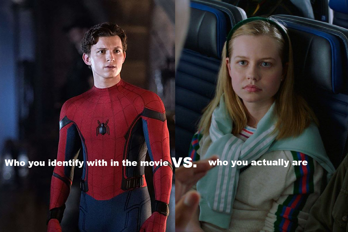 Peter Parker and Betty Brant meme