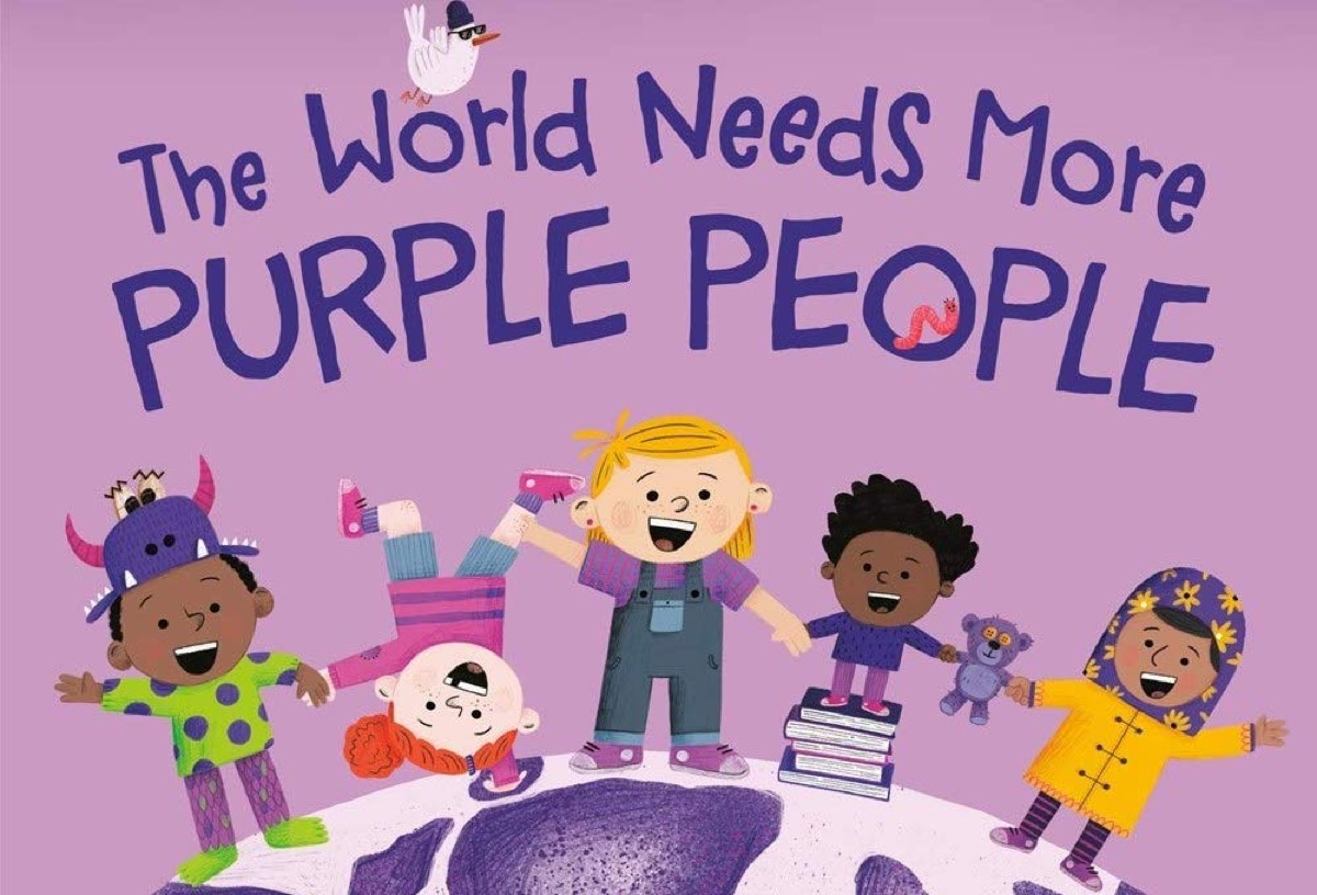 World Needs Purple People book cover.