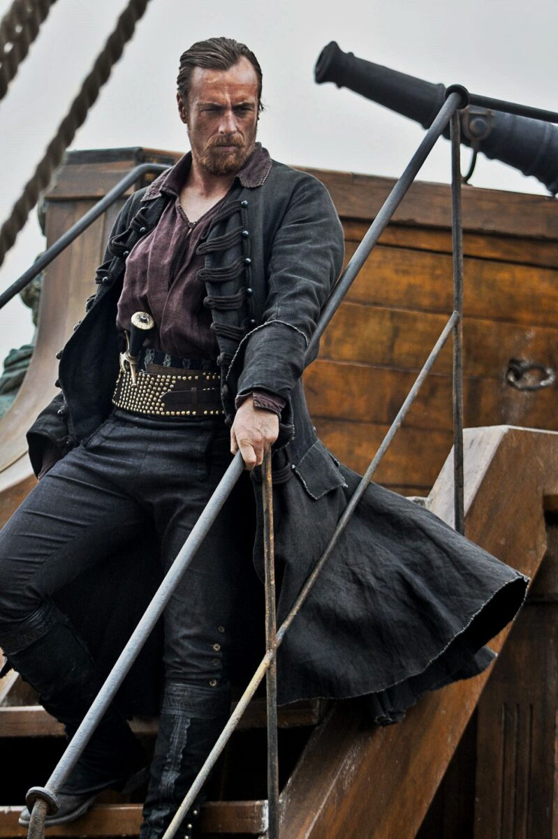 Captain James Flint on Black Sails