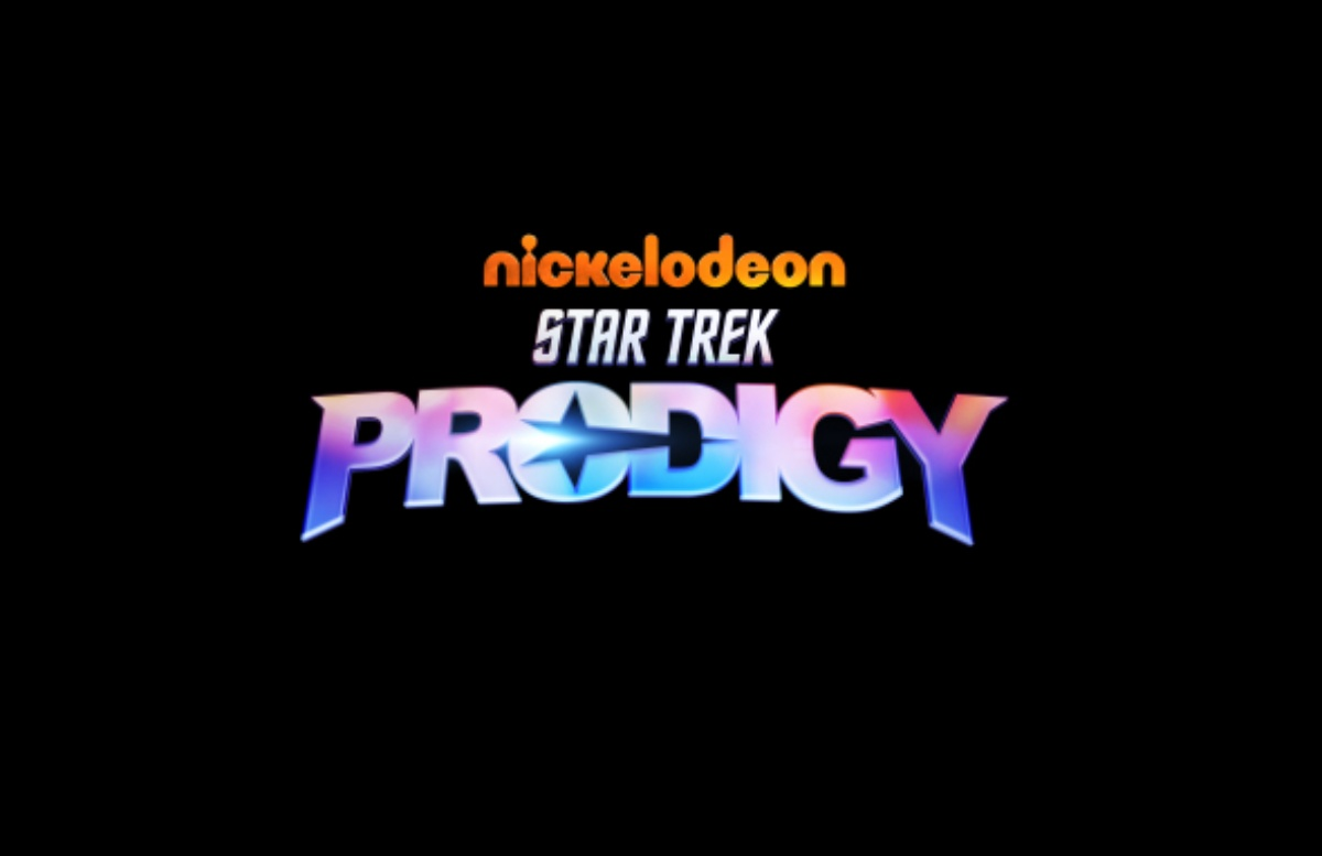 the new star trek prodigy logo just shared
