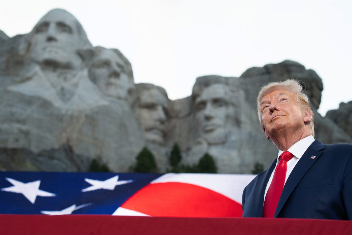 trump mt. rushmore