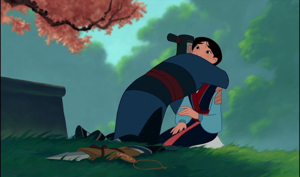 the greatest gift and honor mulan and her father