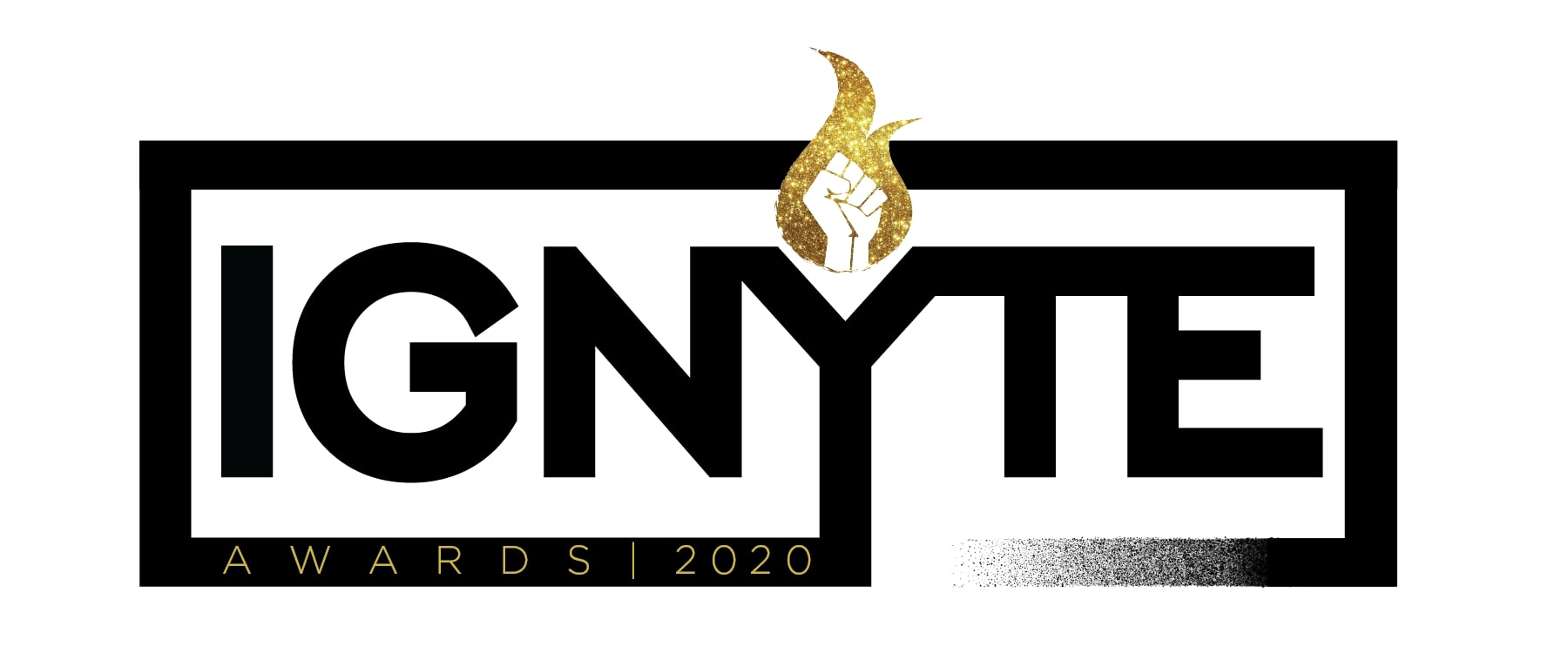 Banner for the inaugural IGNYTE Awards by FIYAH literary magazine