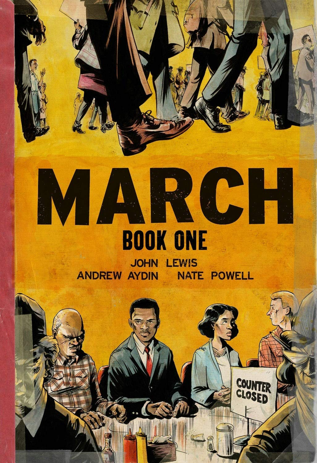 Book Cover for March by John Lewis