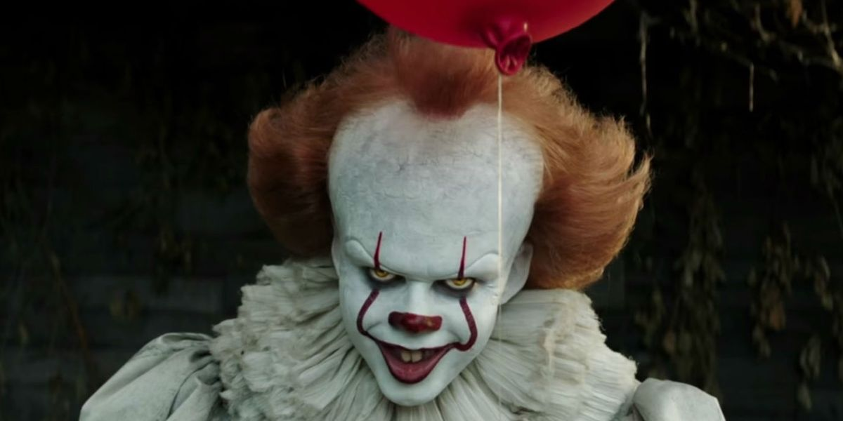 Bill Skarsgård as Pennywise in the 2017 Film Adaptation of Stephen King's IT