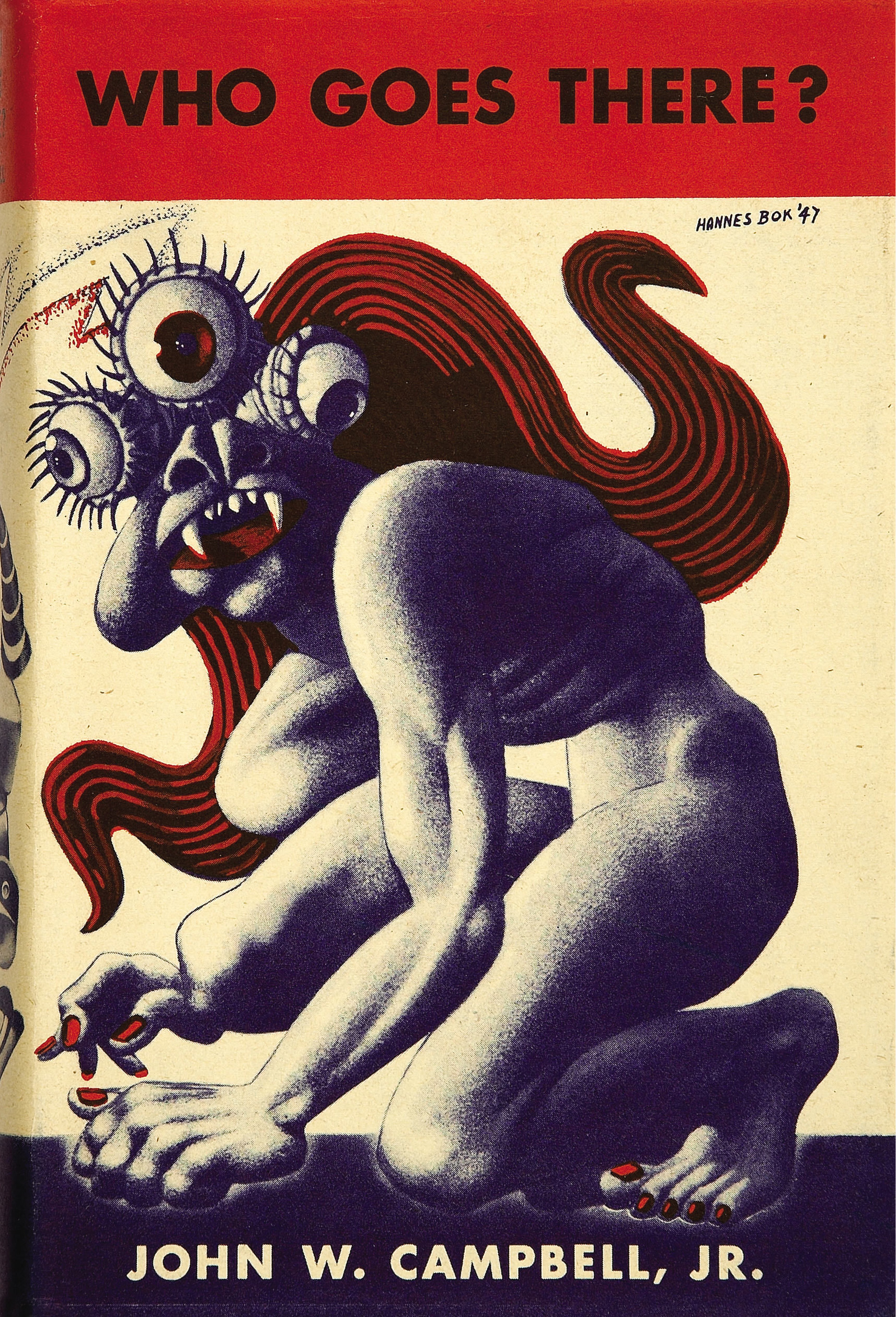 "Cover of the 1948 Edition of ""Who Goes There"" by John W. Campbell"