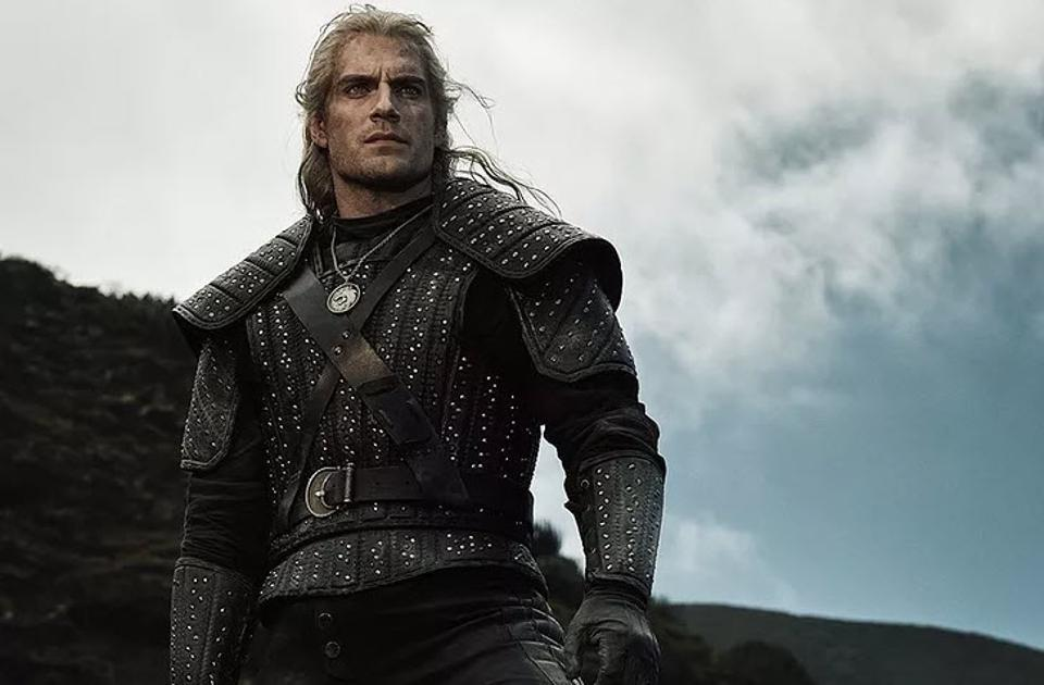 Henry Cavill as Geralt of Rivia in The Witcher season1