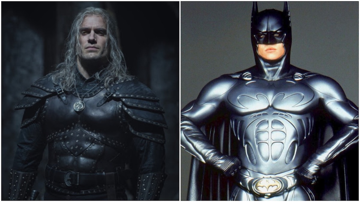 Geralt of Rivia's new season 2 armor in The Witcher reminds us of Batman