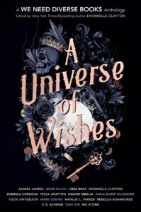 Book cover for A Universe of Wishes by Dhonielle Clayton
