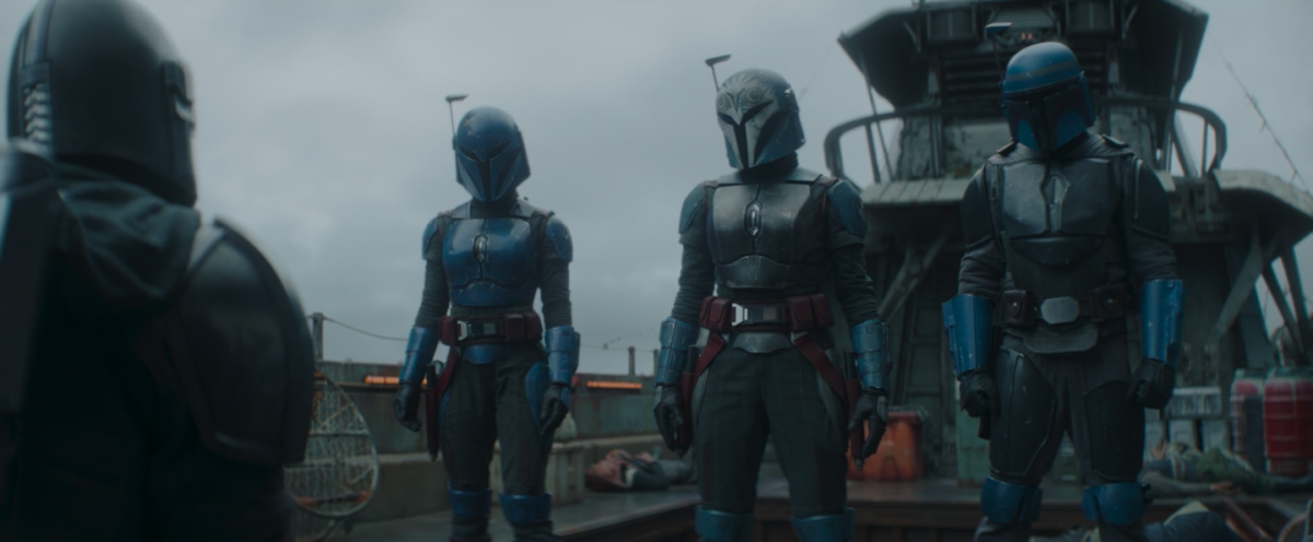 Squad goals in the Mandalorian