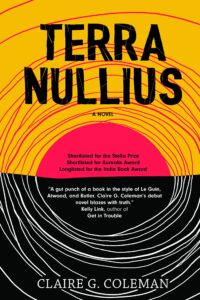 Book cover for Terra Nullius by Claire G. Coleman