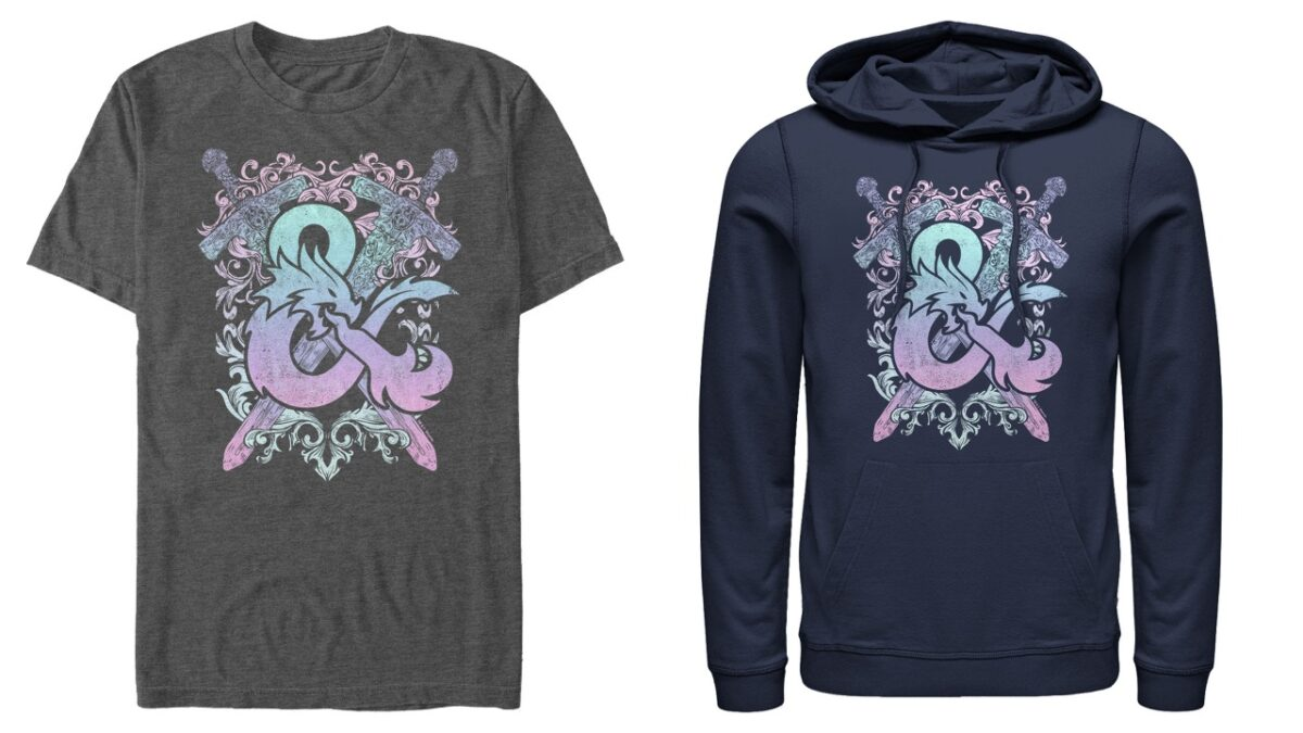 d&d hoodie and shirt