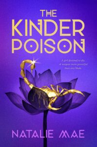 Book cover for The Kinder Poison by Natalie Mae