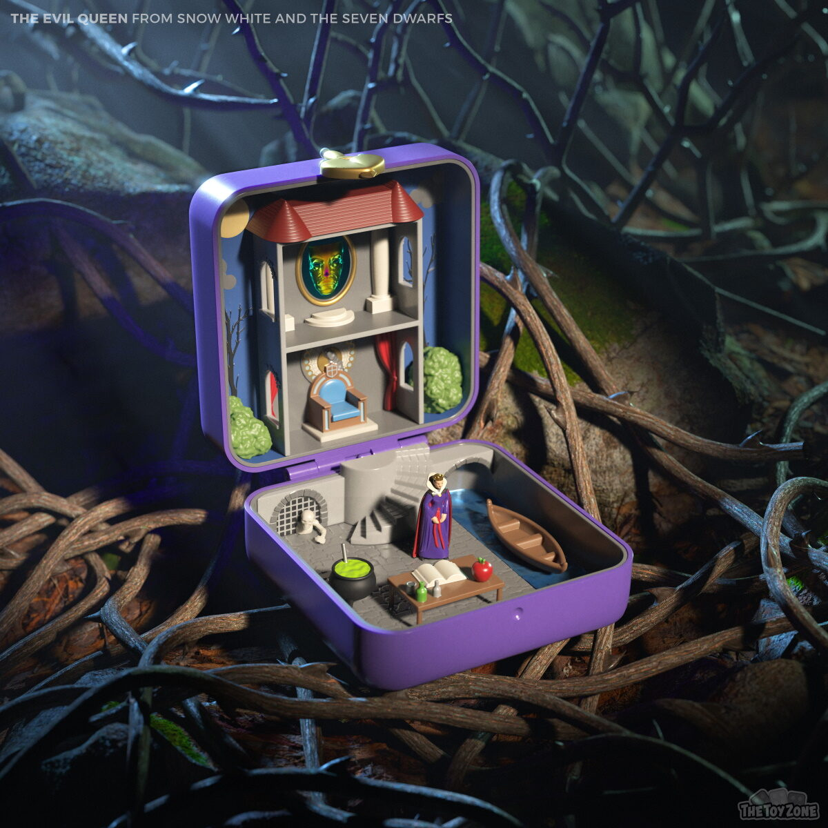 TheToyZone recreates the Evil Queen's lair with Polly Pocket
