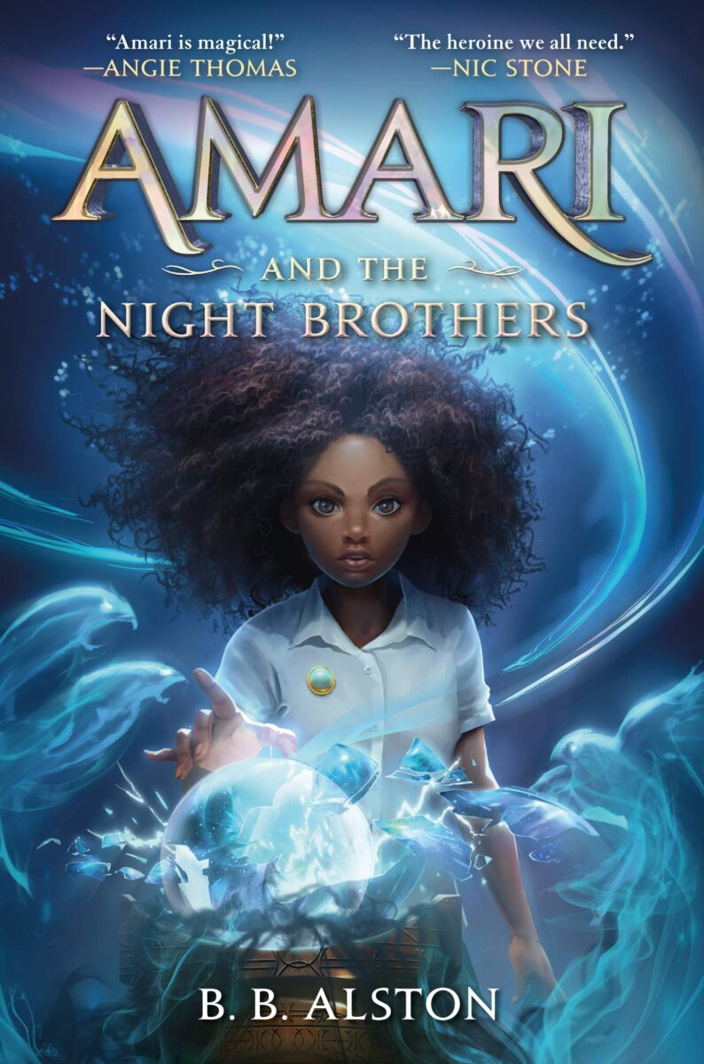 Book cover for Amari And The Night Brothers by B.B. Alston