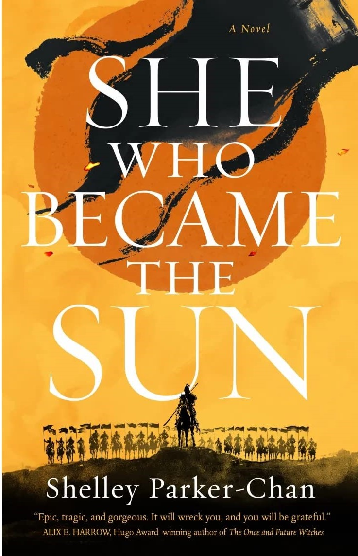 Book cover for She Who Became The Sun by Shelley Parker Chan